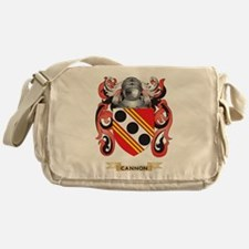 Cannon Coat of Arms Messenger Bag