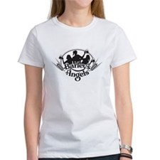 Barley's Angels black and white logo T-Shirt