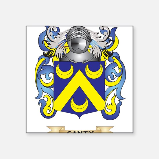 Canty Coat of Arms Sticker