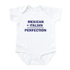 Italian + Mexican Infant Bodysuit