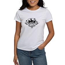 Barley's Angels black and white logo T-Shirt