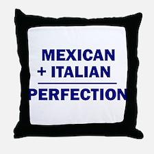 Italian + Mexican Throw Pillow