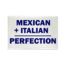 Italian + Mexican Rectangle Magnet (100 pack)