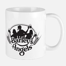 Barley's Angels black and white logo Mug