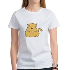 Fluffy Orange Kitty Tee