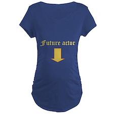 Future actor Maternity T-Shirt