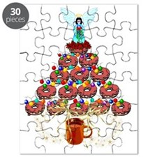 Doughnut Angel Tree Puzzle
