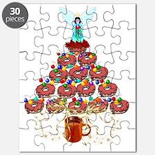 Doughnut Angel Tree Puzzle