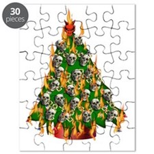 Tree Of Flaming Skulls Puzzle