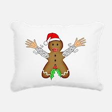 Zombie Gingerbread Rectangular Canvas Pillow