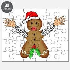 Zombie Gingerbread Puzzle