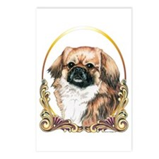 Tibetan Spaniel Holiday Postcards (Package of 8)