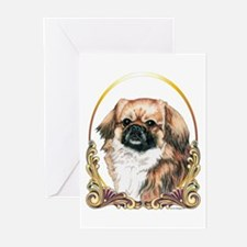 Tibetan Spaniel Holiday Greeting Cards (Package of