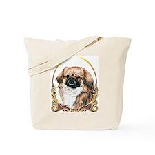 Tibetan Spaniel Holiday Tote Bag
