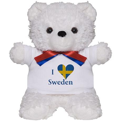 I heart Sweden Teddy Bear