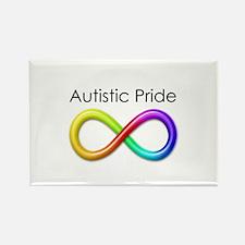 Autistic Pride Rectangle Magnet