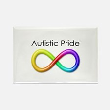 Autistic Pride Rectangle Magnet (10 pack)