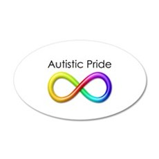 Autistic Pride Wall Decal