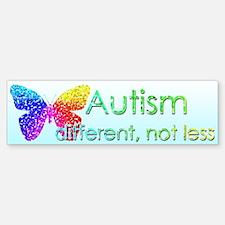 Autism Butterfly Sticker (Bumper)