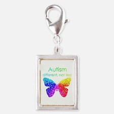 Autism Butterfly, different, not less Charms