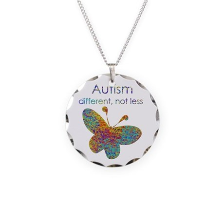 Autism: different, not less Necklace