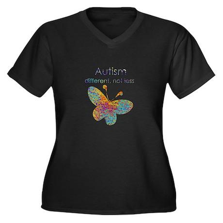 Autism: different, not less Plus Size T-Shirt