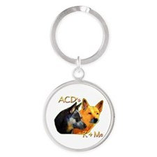 """AuCaDogs """"ACD's R 4 Me"""" Keychains"""