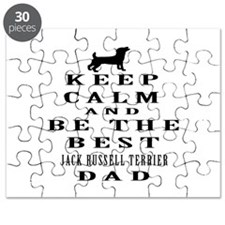 Jack Russell Terrier Dad Designs Puzzle
