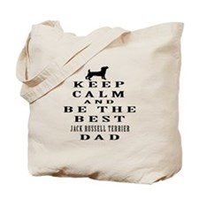 Jack Russell Terrier Dad Designs Tote Bag