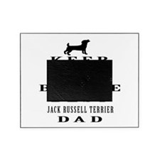Jack Russell Terrier Dad Designs Picture Frame