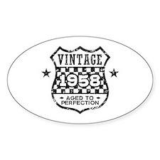 Vintage 1958 Decal
