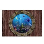 Underwater Love Porthole Postcards (Package of 8)