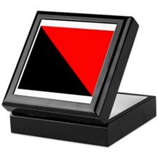 Anarchist Flag Keepsake Box
