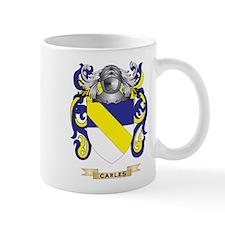 Carles Coat of Arms Mug