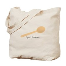 Spoon. Wooden. Tote Bag