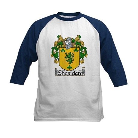 Sheridan Coat of Arms Kids Baseball Jersey