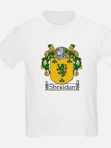 Sheridan Coat of Arms Kids T-Shirt