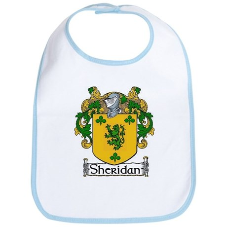 Sheridan Coat of Arms Bib