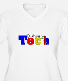 Dialysis Tech Plus Size T-Shirt