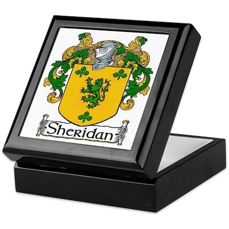 Sheridan Coat of Arms Keepsake Box