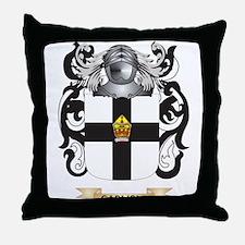 Carlisle Coat of Arms Throw Pillow