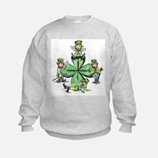 Leprechauns Hanging Out Sweatshirt