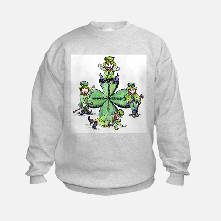 Leprechauns Hanging Out Sweatshirt