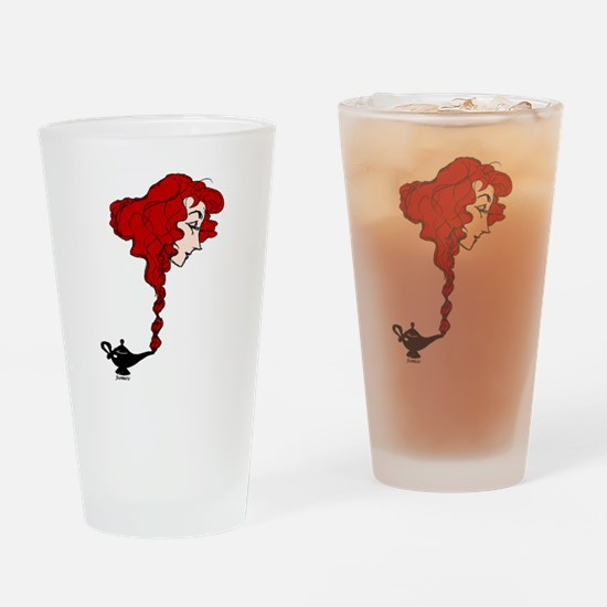 THREE WISHES GRANTED Drinking Glass