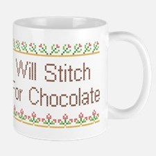 Will Stitch for Chocolate Mug