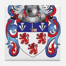 Carney Coat of Arms Tile Coaster