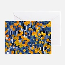 Klimtified! - Gold/Blue Greeting Card