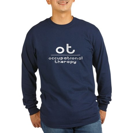 ot occupational therapy Long Sleeve Dark T-Shirt