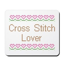 Cross Stitch Lover Mousepad