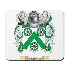 Carter Coat of Arms Mousepad